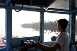 steering the ferry