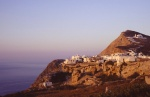 Folegandros over a terrace