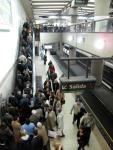 commuter crowd