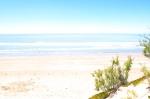 Argentina, Aguas Verdes: ocean view.